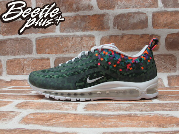 BEETLE PLUS 全新 NIKE AIR MAX 97 JD SP 數位迷彩 彩格 白 氣墊 1997 JCRD 693202-331 US 11.5 0