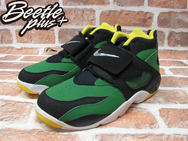 BEETLE NIKE AIR DIAMOND TURF OREGON 黑綠 鑽石 奧勒岡鴨 男鞋 309434-302 1