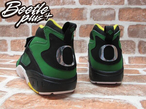 BEETLE NIKE AIR DIAMOND TURF OREGON 黑綠 鑽石 奧勒岡鴨 男鞋 309434-302 2