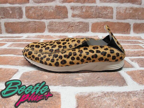 西門町 BEETLE PLUS 現貨 NIKE WMNS POCKET RUNNER QS LEOPARD 豹紋 懶人鞋 女生 SLIP ON 457114-010