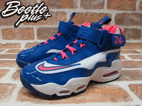 BEETLE PLUS NIKE AIR GRIFFEY MAX 1 GS 白 藍粉 西雅圖 水手隊 葛瑞菲 童鞋 552983-100 1