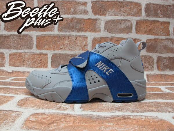 BEETLE+NIKE AIR VEER 灰藍 水藍 魔鬼氈 GD 氣墊 權志龍 北卡 喬丹 男鞋 599442-003 0