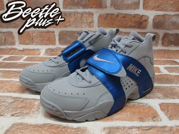 BEETLE+NIKE AIR VEER 灰藍 水藍 魔鬼氈 GD 氣墊 權志龍 北卡 喬丹 男鞋 599442-003 1
