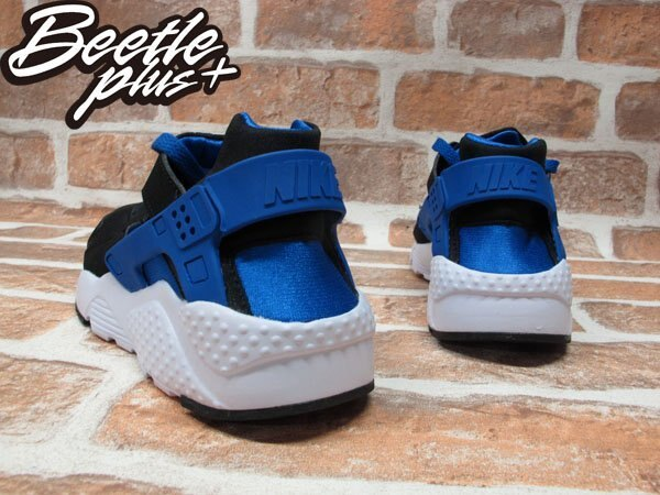BEETLE PLUS NIKE AIR HUARACHE RUN GS 黑藍 慢跑 輕量 復古 忍者鞋 女鞋 654275-005 2