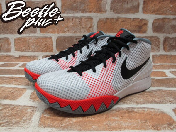 BEETLE NIKE KYRIE 1 HOME IRVING 騎士 厄文 白 橘灰 主場 男鞋 705278-100 1