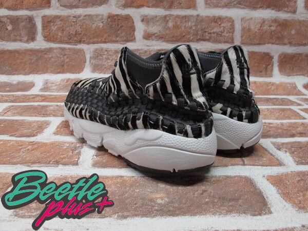 BEETLE PLUS NIKE AIR FOOTSCAPE WOVEN CHUKKA 斑馬 編織 余文樂 馬毛 側綁 446337-201 2