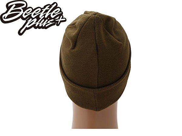 BEETLE PLUS 西門町經銷 全新 美國品牌 OBEY BRIGADE BEANIE 骨頭 文字 軍綠 毛帽 100030011DO OB-123 2