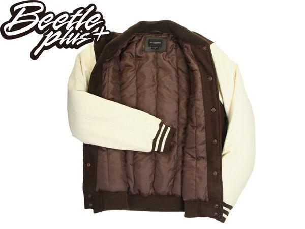 BEETLE PLUS 西門町經銷 全新 美國品牌 OBEY CRESCENT MOON VARSITY 軍綠 美式 刺繡 大LOGO 棒球外套 121800051ARM OB-70 1
