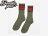 BEETLE PLUS 西門町經銷 全新 美國品牌 OBEY COOPER SOCKS LOGO OLD SCHOOL 墨綠 紅 經典款 中長筒襪 100260003HO3 OB-151 2