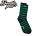 BEETLE PLUS 西門町經銷 美國品牌 OBEY KICK OFF SOCKS LOGO OLD SCHOOL 條紋襪 綠藍 經典款 中長筒襪 100260022GRN OB-157 0