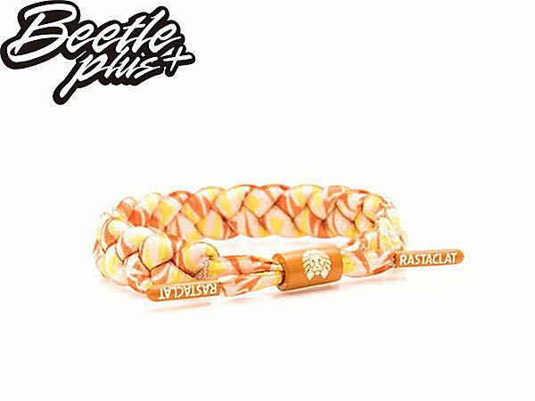 BEETLE PLUS 西門町經銷 全新 美國品牌 RASTACLAT X DENIK BRACELET 白 橘綠 藝術家 聯名 手環 附口袋書 RA-18 1
