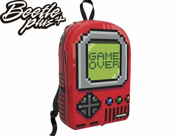 BEETLE PLUS 全新 SPRAYGROUND 超強功能性 後背包 PIXEL GAME OVER 遊戲機 RED 紅 灰 綠 SP-31 - 限時優惠好康折扣