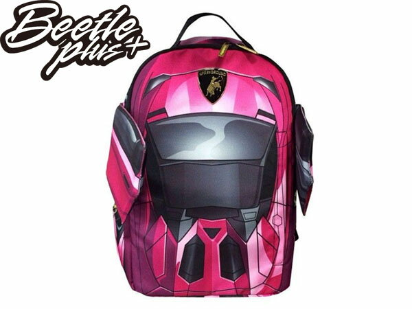 BEETLE PLUS SPRAYGROUND 後背包 LAMBO PINK 藍寶堅尼 跑車 翅膀 粉紅色 BACKPACK 0