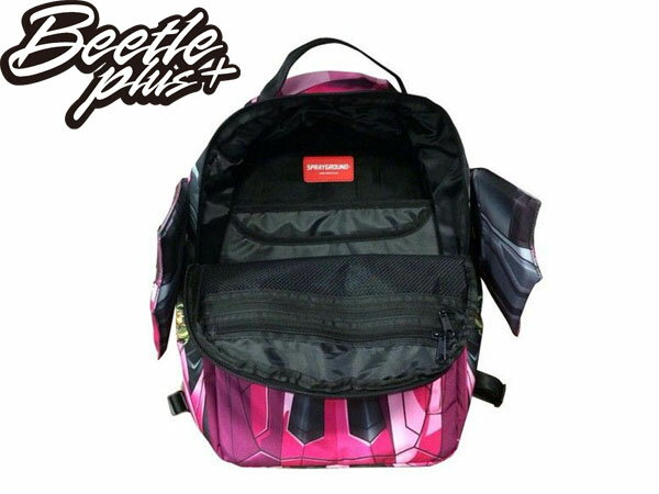 BEETLE PLUS SPRAYGROUND 後背包 LAMBO PINK 藍寶堅尼 跑車 翅膀 粉紅色 BACKPACK 1