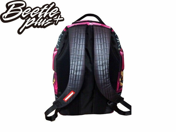 BEETLE PLUS SPRAYGROUND 後背包 LAMBO PINK 藍寶堅尼 跑車 翅膀 粉紅色 BACKPACK 2