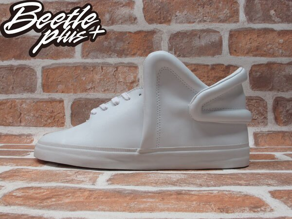 BEETLE PLUS 全新 SUPRA FALCON 全白 皮面 板鞋 THEOPHILUS LONDON LIL WAYNE S78001 0