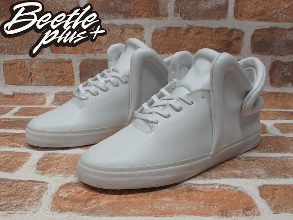BEETLE PLUS 全新 SUPRA FALCON 全白 皮面 板鞋 THEOPHILUS LONDON LIL WAYNE S78001 1