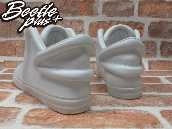BEETLE PLUS 全新 SUPRA FALCON 全白 皮面 板鞋 THEOPHILUS LONDON LIL WAYNE S78001 2