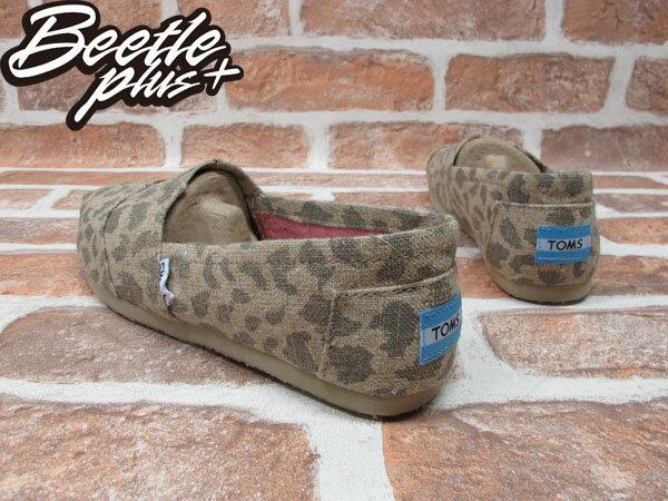 BEETLE PLUS 全新 TOMS LEOPARD BURLAP WOMEN'S CLASSICS 女鞋 好萊塢女星 麻紗 時尚豹紋 TOMS-027 2