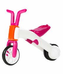比利時Chillafish二合一漸進式玩具 Bunzi寶寶平衡車- 亮桃紅