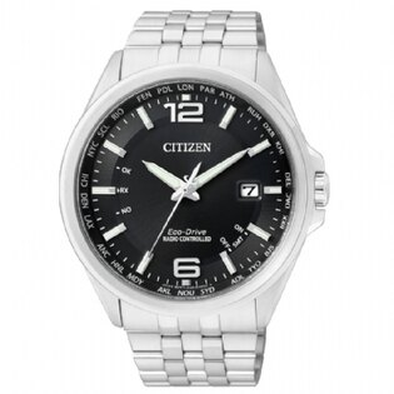CITIZEN 電波時計光動能錶/CB0011-77E