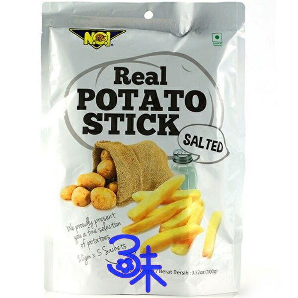 (泰國) NOi 馬鈴薯條-紫薯 1包 100 公克 特價 96 元 【 8850291205293 】(NOI 馬鈴薯條 NO1嗆薯條 )