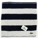 【妙朗嘉】日本進口 鱷魚牌100%棉方形條文毛巾