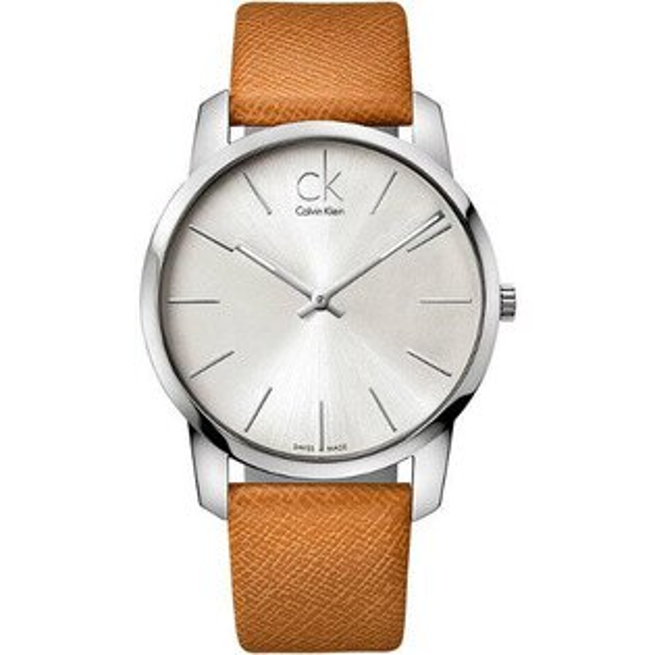 CK CITY(K2G21138)城市經典簡約腕錶/白面43mm