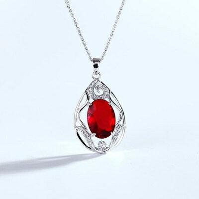 水晶項鍊毛衣鍊~高貴典雅精緻鑲鑽情人節生日 女飾品4色73gc102~ ~~米蘭 ~ ~