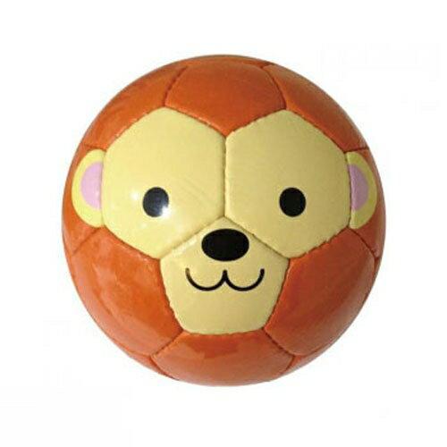 ★衛立兒生活館★日本FOOTBALL ZOO 專業兒童足球-猴子JP486