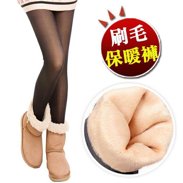 BOBO小中大尺碼【8543】厚棉網狀假透膚內搭褲-S~2L 0