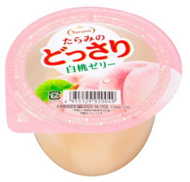 Tarami達樂美杯子果凍-白桃  (250g)