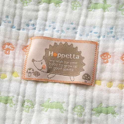【安琪兒】日本【Hoppetta】彩虹蘑菇四層紗被 1