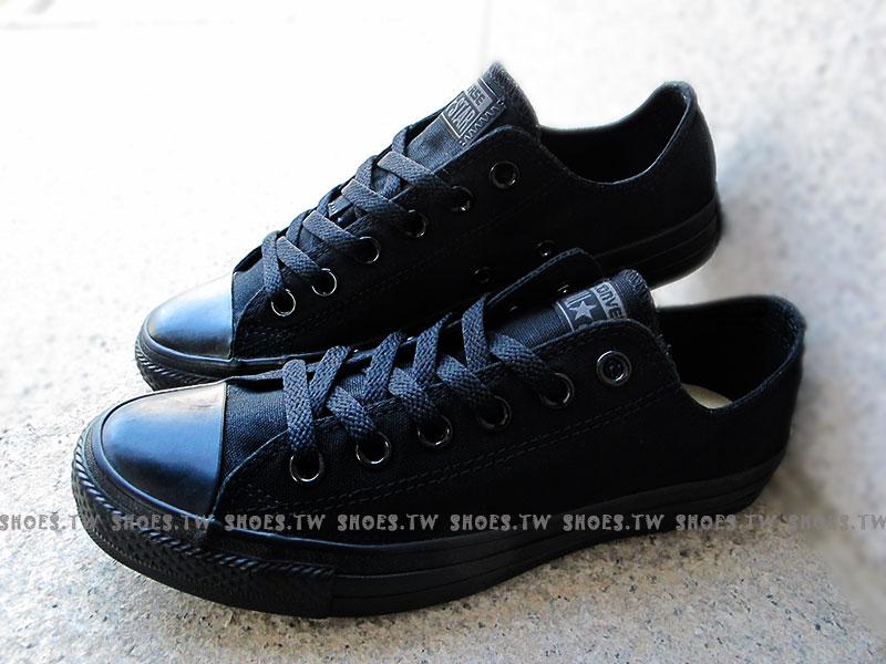 《限量5折》【M5039C】CONVERSE 帆布鞋 ALLSTAR 基本款 低筒帆布 全黑 男女