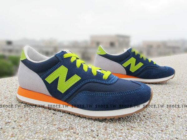 《超值4折》Shoestw【CW620AI】NEW BALANCE 620 復古慢跑鞋 麂皮 深藍綠 女生