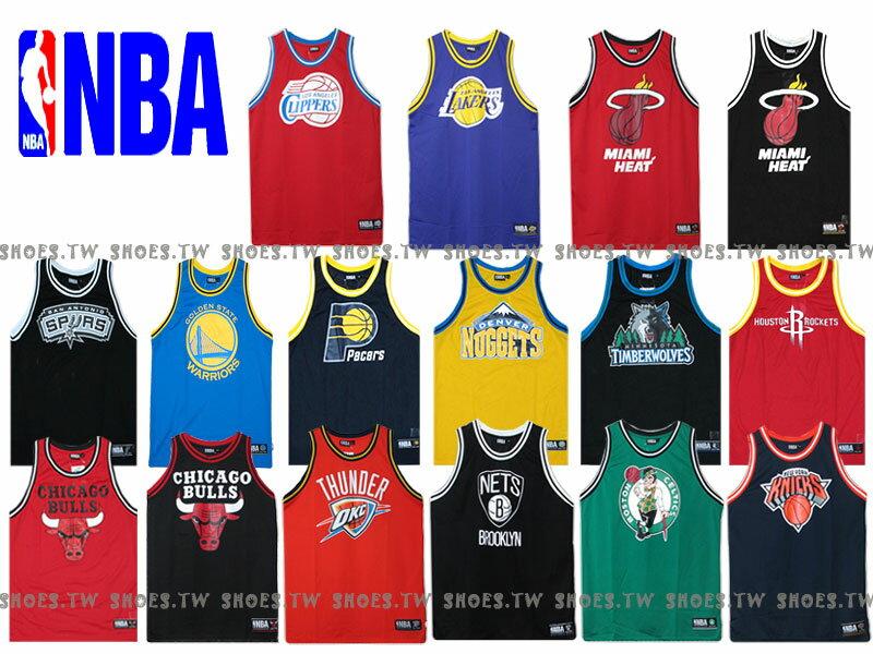 NBA大LOGO復古球衣