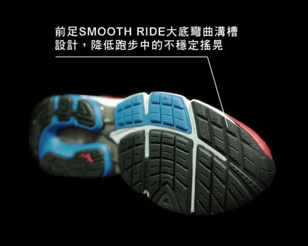 Mizuno美津濃 男款慢跑鞋 WAVE INSPIRE 12 支撐型 -湛藍紅 5