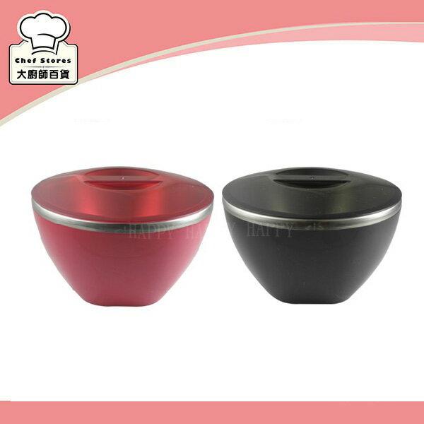 牛頭牌炫彩雙層隔熱碗不鏽鋼泡麵碗850cc料理保鮮碗-大廚師百貨