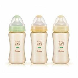 Simba小獅王辛巴 - PPSU寬口雙凹中奶瓶 270ml 0