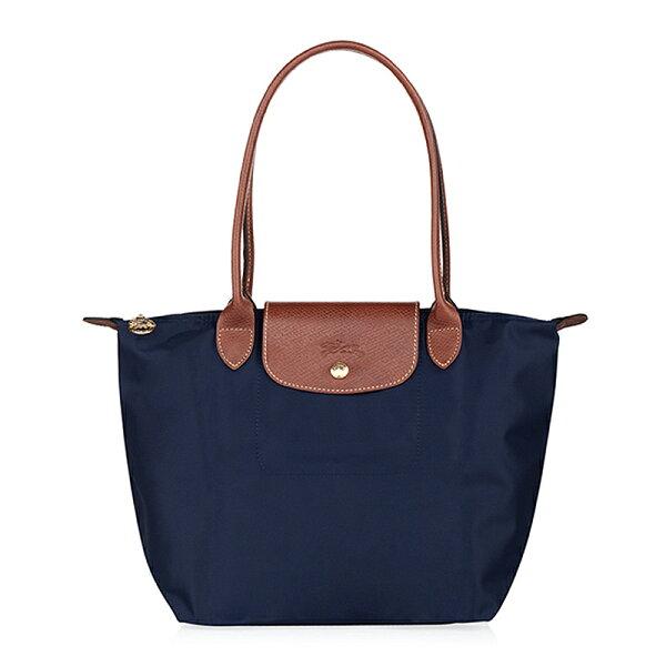 Longchamp   2605 098 556 新款女性包時尚潮流可折疊水餃包中號長柄餃子包