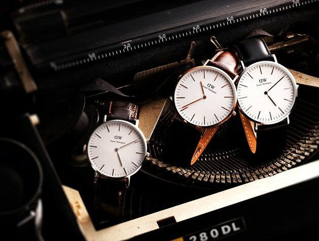 瑞典正品代購 Daniel Wellington 0106DW 玫瑰金 真皮 錶帶 男女錶 手錶腕錶 40MM 4
