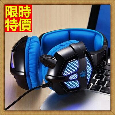 耳機麥克風頭戴式耳機耳麥-電競專用電腦耳機音樂遊戲語音3色69aa92【獨家進口】【米蘭精品】