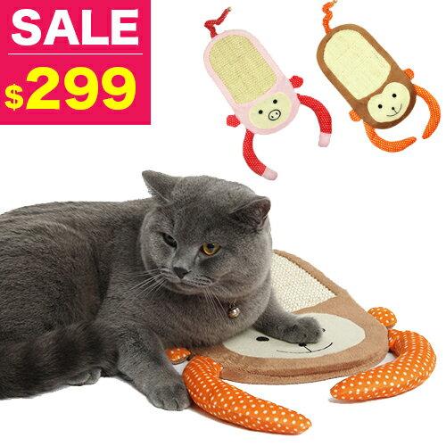 【小樂寵】Elite 動物造型劍麻貓抓板.兩款
