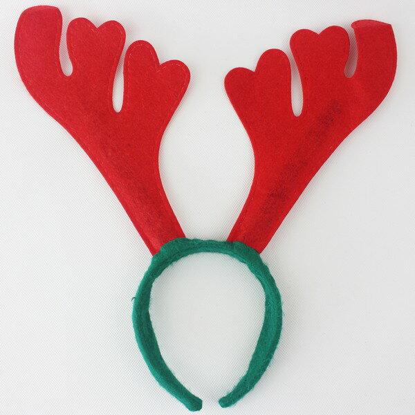 聖誕鹿角 聖誕髮箍 聖誕鹿角髮夾(標準型)/一個入{促30}可愛麋鹿角 聖誕頭圈~3909B