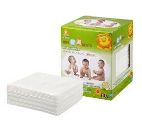 『121婦嬰用品館』辛巴 嬰兒乾溼兩用巾 80抽 0