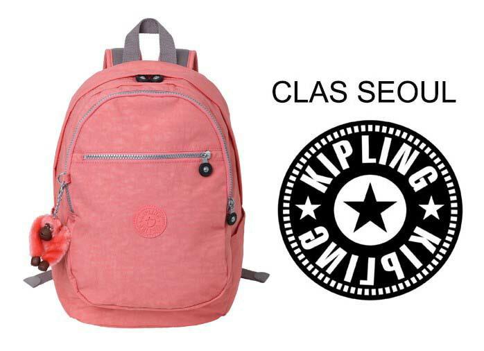 OUTLET代購【KIPLING】時尚經典Seoul旅行袋 斜揹包 肩揹包 後揹包 粉紅色 0