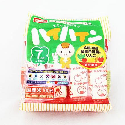 【敵富朗超巿】龜田野菜嬰兒米果 0