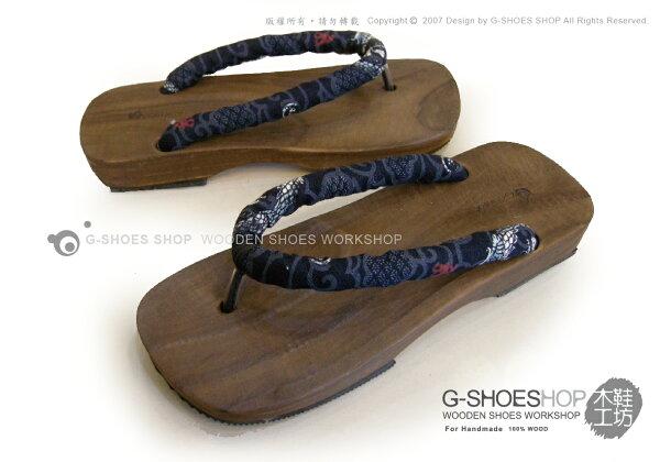 ◎g-shoes shop木鞋工坊 ◎**木屐** D05031-37圓帶夾式木屐拖(吸濕排汗)可做親子鞋