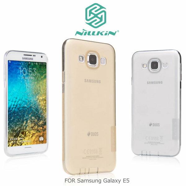 NILLKIN Samsung Galaxy E5/E500 本色系列TPU軟套 軟殼 透色套~斯瑪鋒科技~