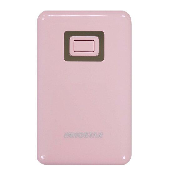 【行動電源】iNNOSTAR PC5588 馬卡龍繽紛色系移動電源(5500mAh)(粉)公司貨
